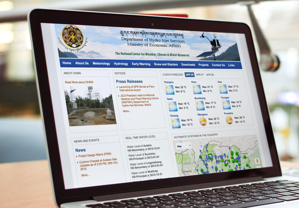 DHMS Weather Monitoring & Early Warning   ICT & DRR Gateway