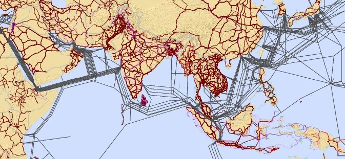 Asia Pacific Information Superhighway Interactive Map Ict Drr