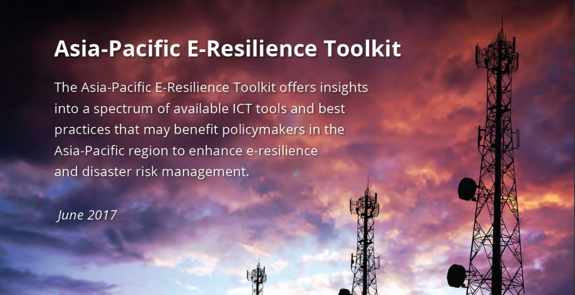 Asia-Pacific E-Resilience Toolkit ict disaster