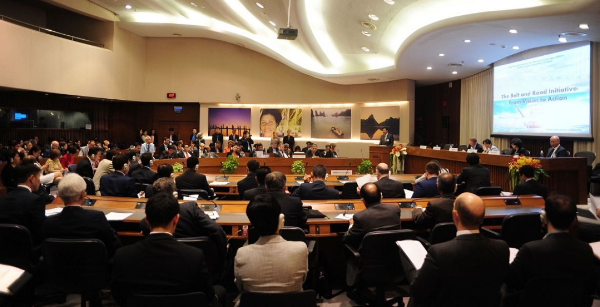 Belt and Road Initiative side event during 72nd Commission Session at ESCAP