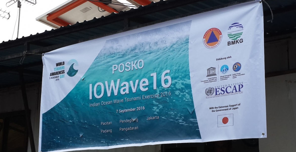 IOWave16 Tsunami Exercise in Indonesia
