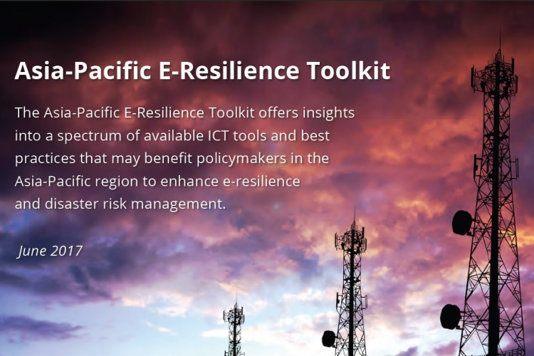 Asia-Pacific, E-Resilience, Toolkit, ict, disaster