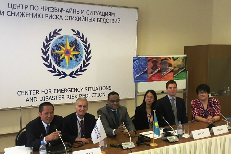 Regional Adviser on DRR in Almaty