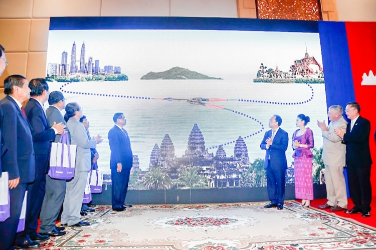 Khmer Times - submarine cable launch