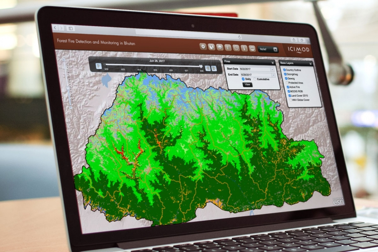 Bhutan forest fire dection and monitoring system