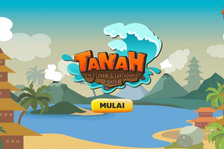 Tanah tsunami and earthquake game